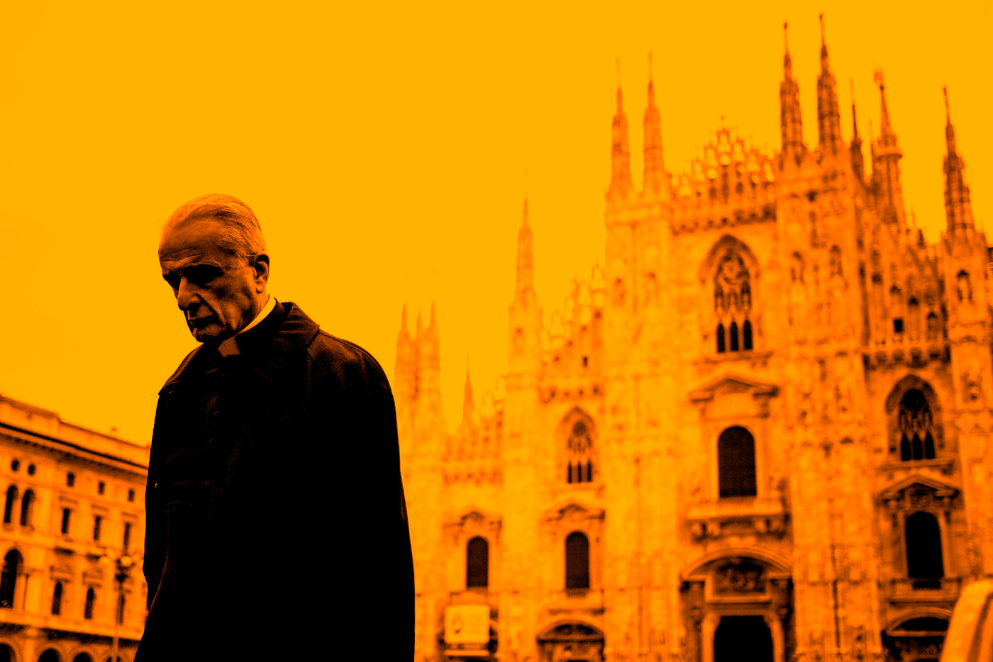 Sacerdote, Milano, 2016.