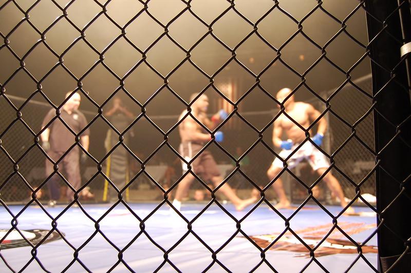 Arnold Amateur Mixed Martial Arts (MMA) Competition, Ohio, USA, 2010.