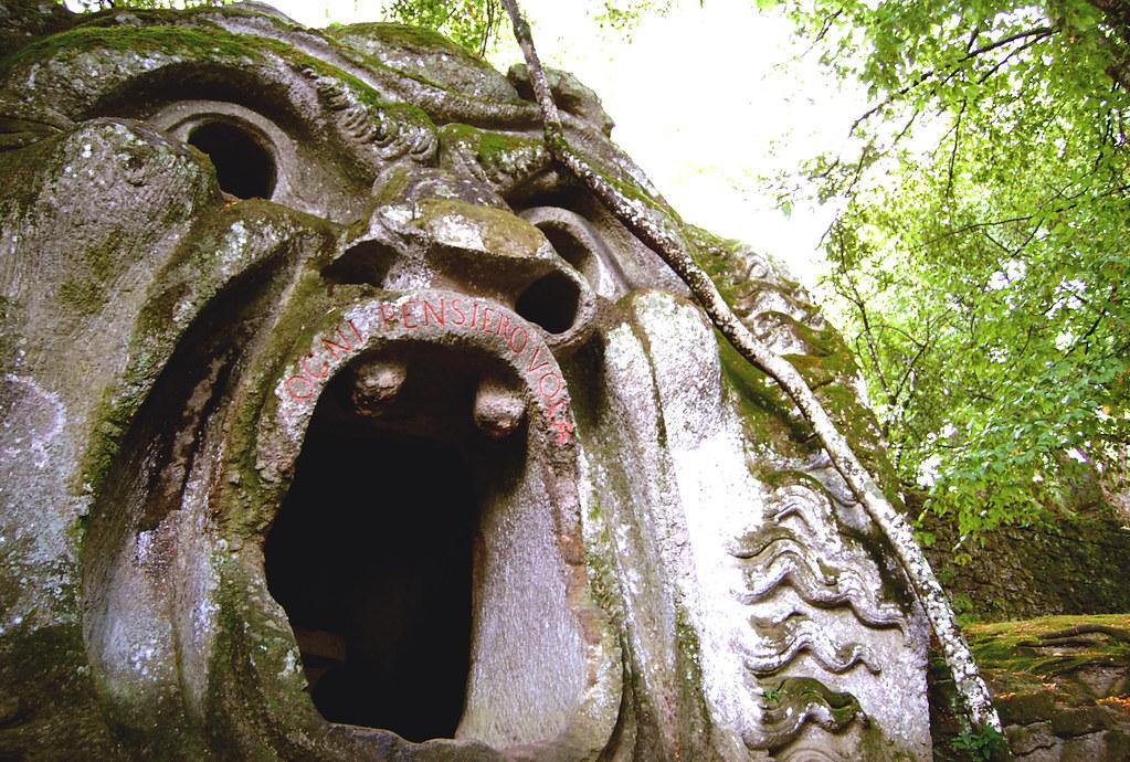 Il parco del mostri di Bomarzo
