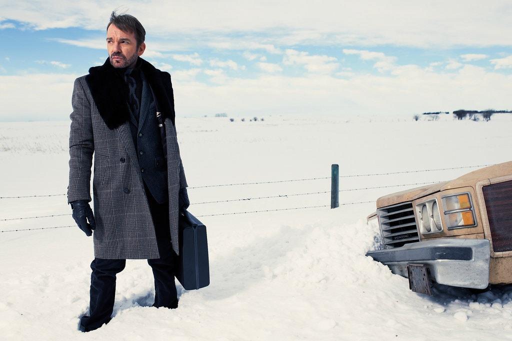 "Billy Bob Thornton in ""Fargo."""