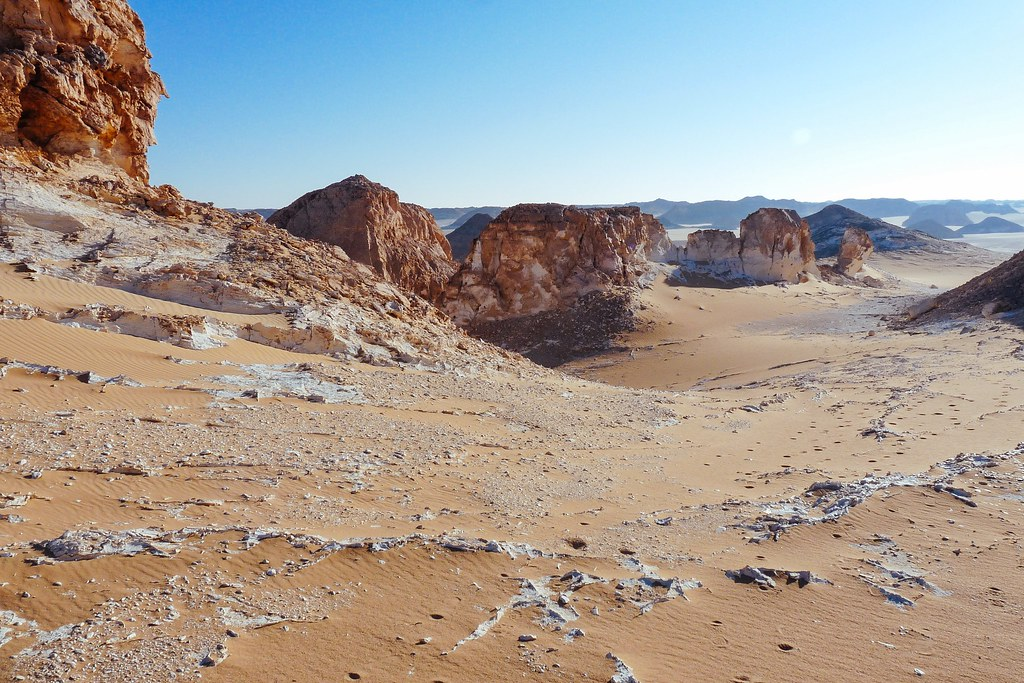 Il deserto bianco, Egitto.