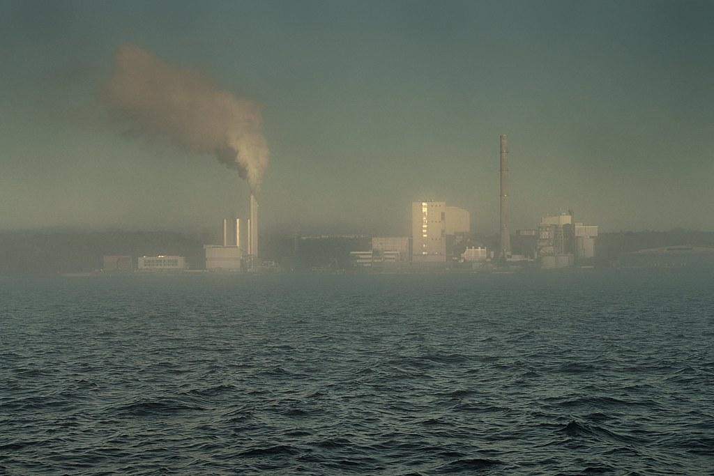 Centrale elettrica a Kiel, Germania, 2021