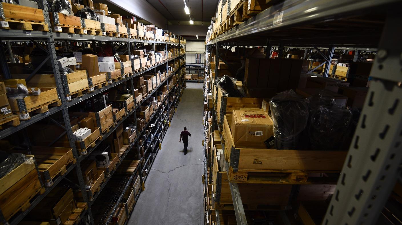 Un magazzino di Amazon