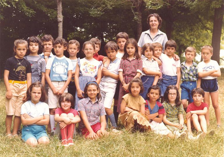 Foto di classe, Italia (anni 70-80)