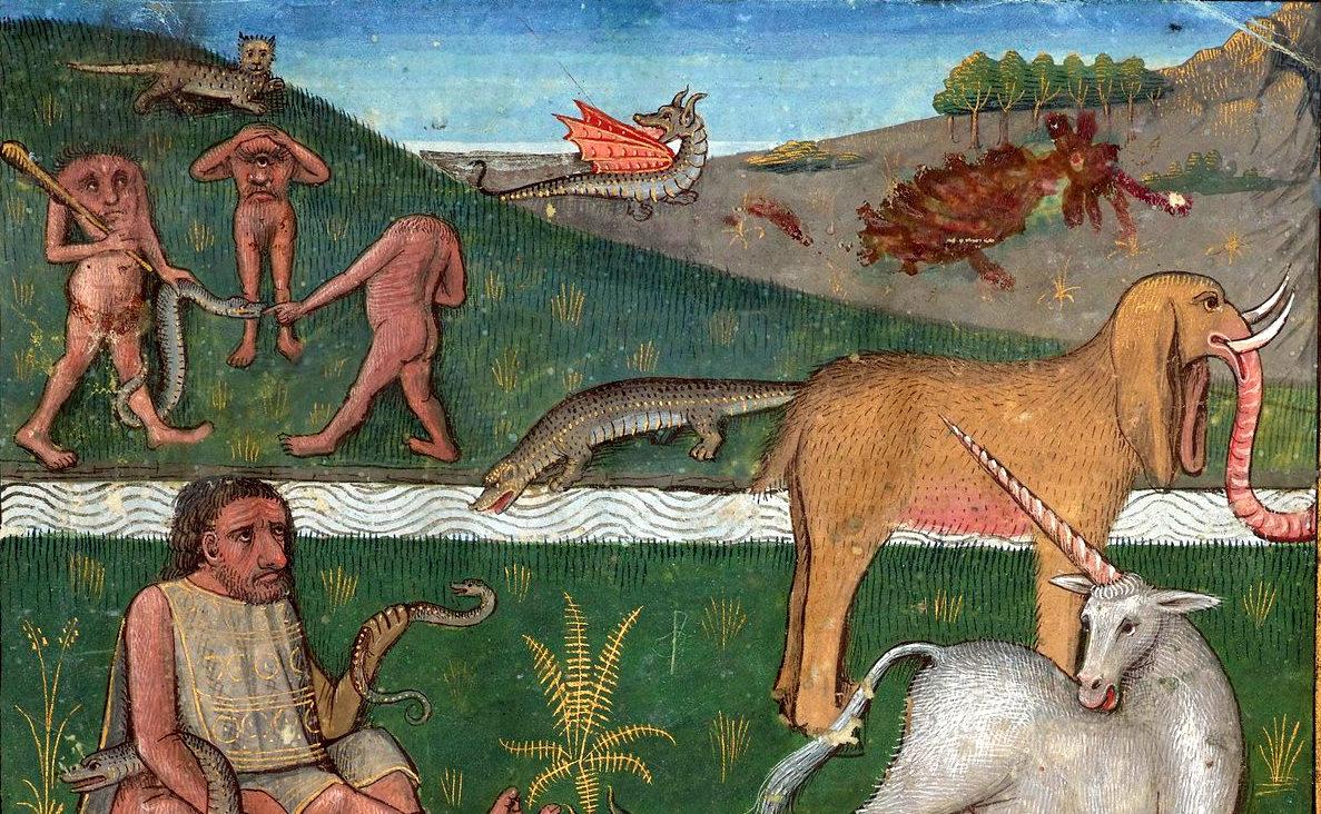 Secrets de l'histoire naturelle, 1480-1485.