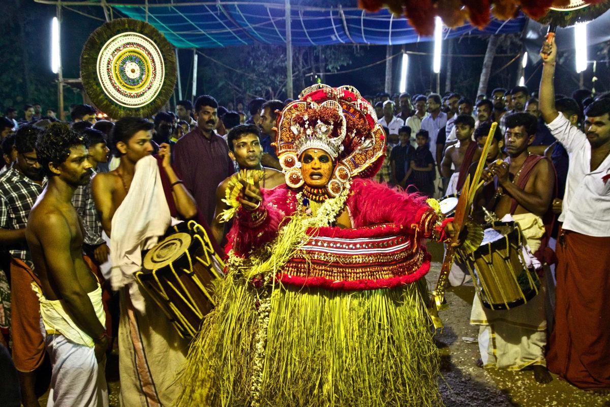 Theyyam, India.