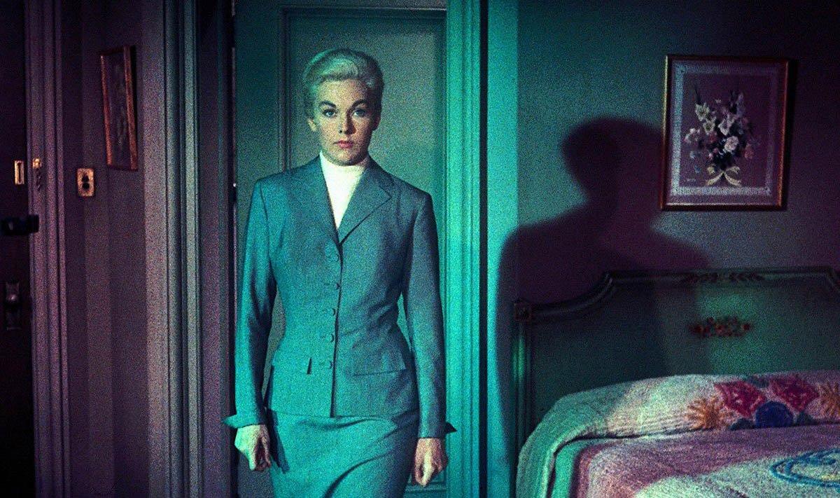 """Una scena tratta dal film """"Vertigo"""", di Alfred Hitchcock, 1958"""