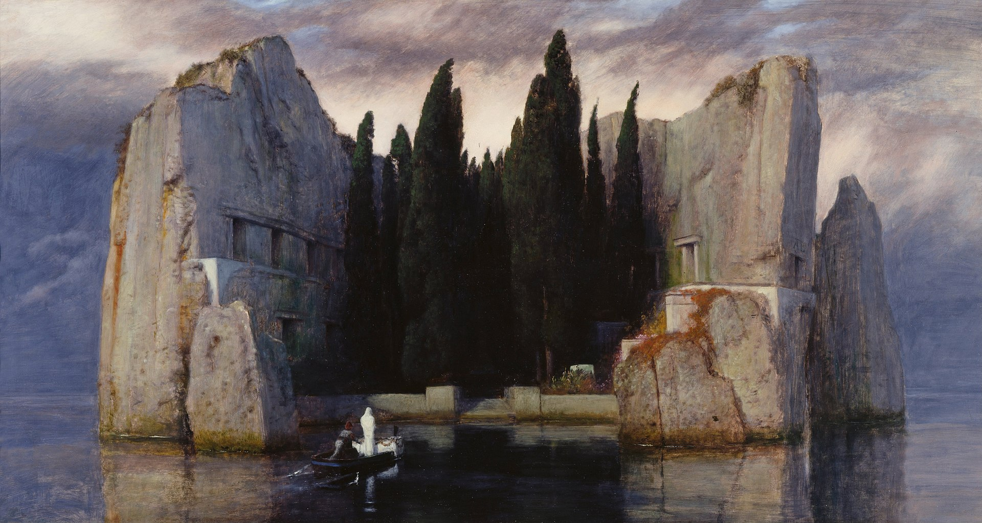 Die Toteninsel, Arnold Böcklin, 1883