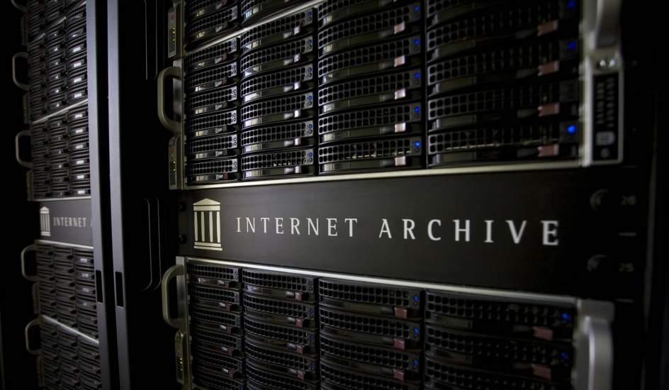 I server di Internet Archive