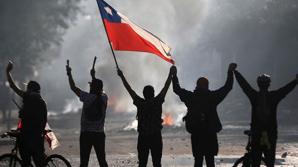 Proteste a Santiago de Chile, 2019