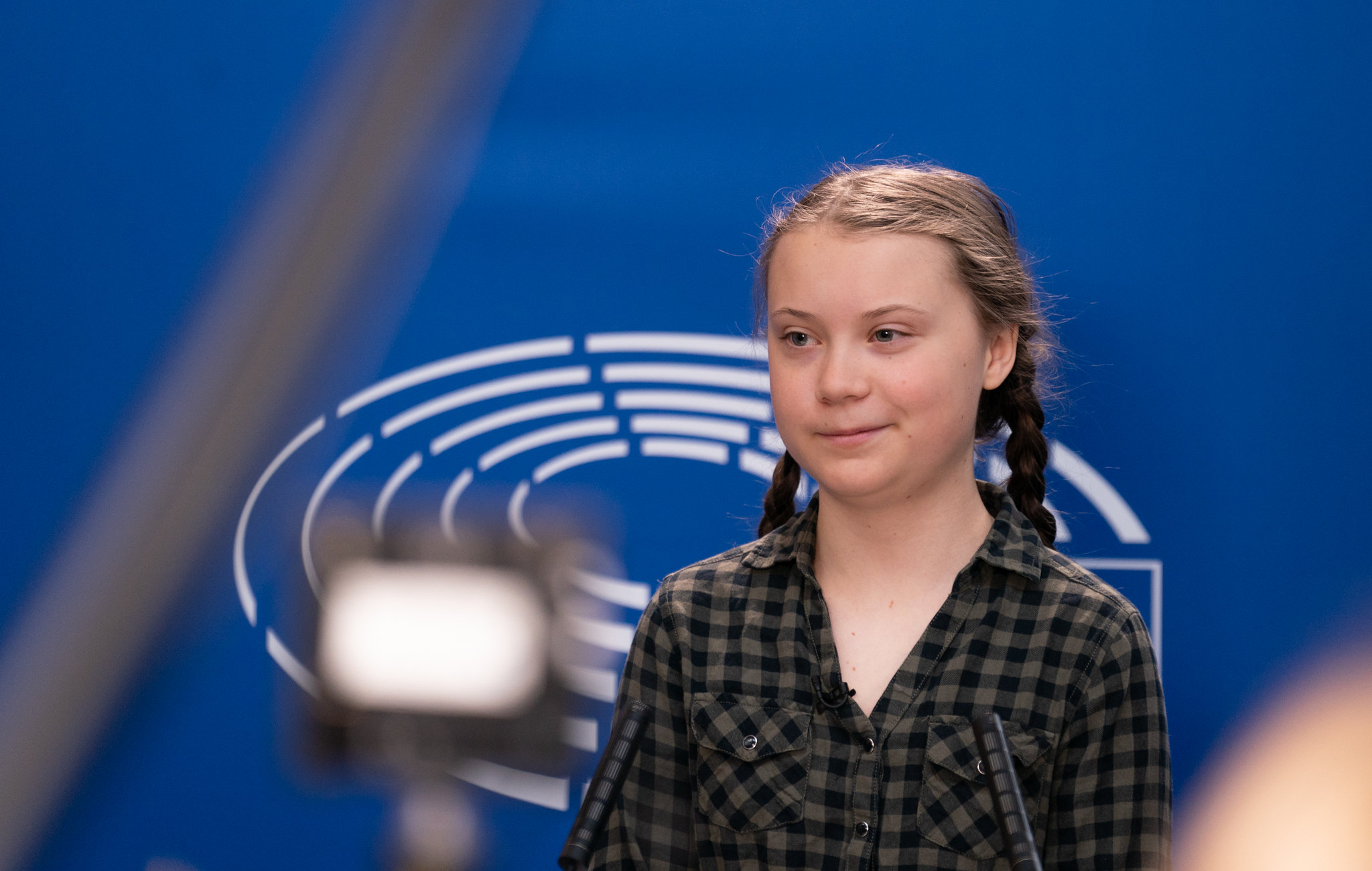 Greta Thunberg al Parlamento Europeo, 4 marzo 2020