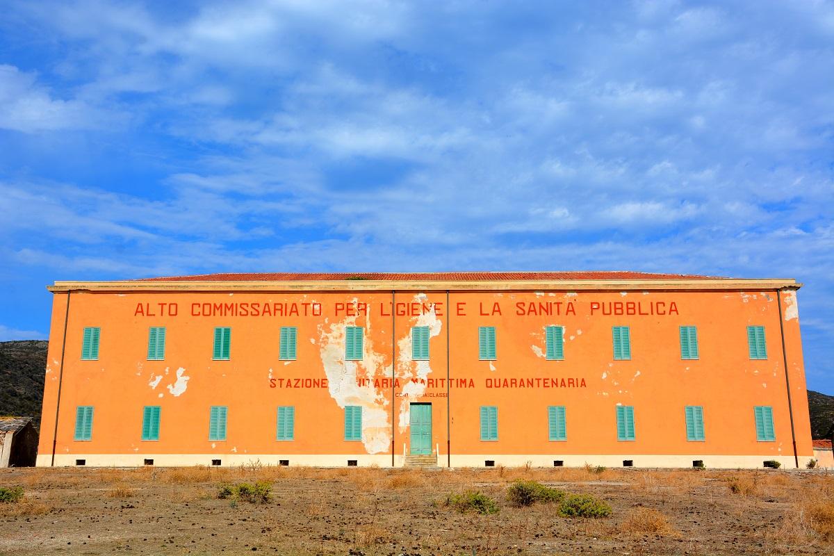 La stazione sanitaria dell'Isola dell'Asinara, Sardegna