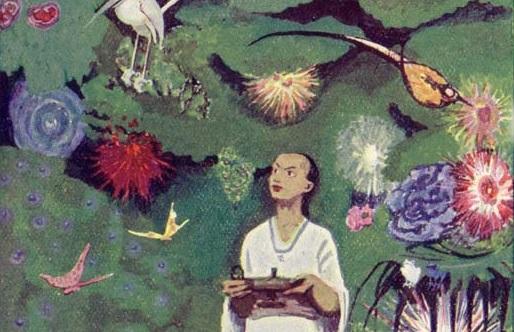 """Da """"Aladino e la lampada magica"""" di Ludwig Fulda, 1912"""