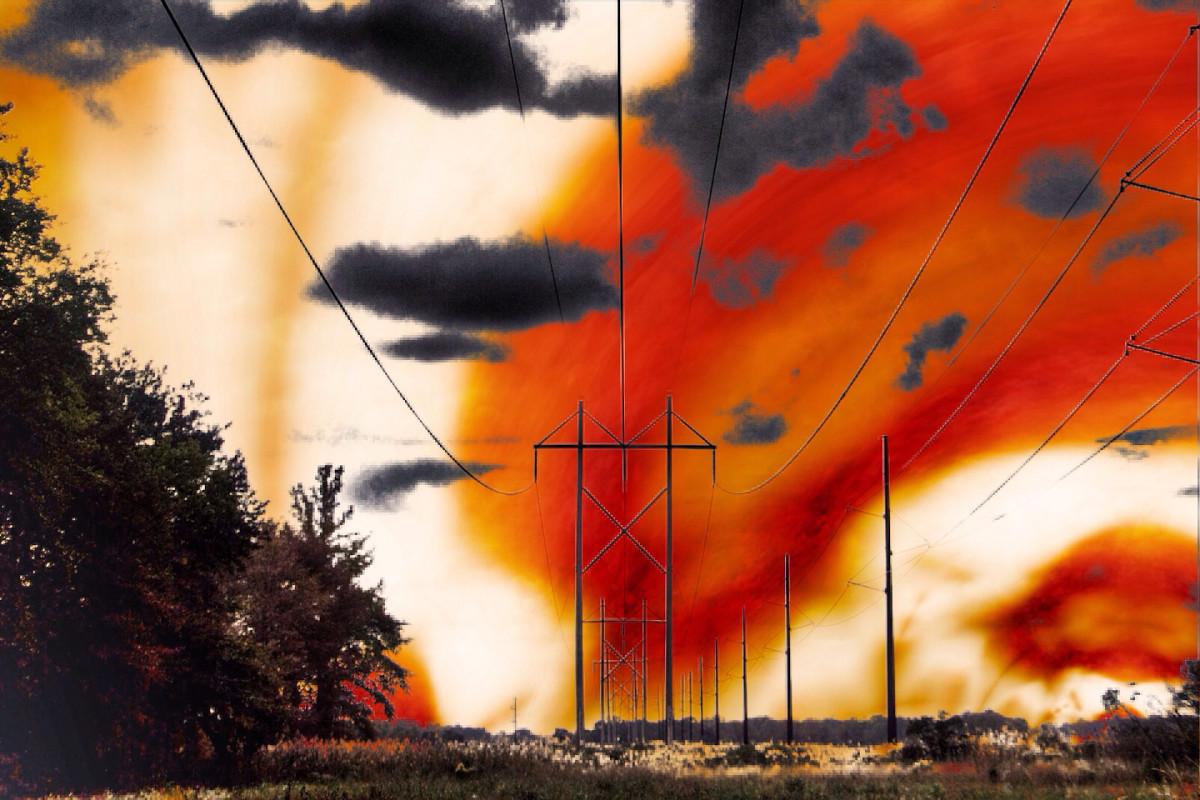 Il cielo rosso