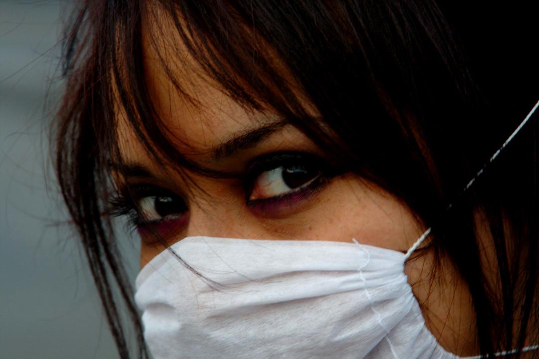 Una ragazza messicana, Città del Messico, 2009.